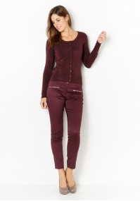 Spodnie 5088 (burgund)
