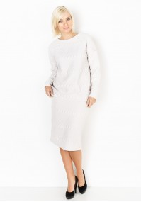 Knitted cream Skirt