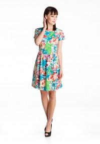 Sukienka 1395 (kolorowa)