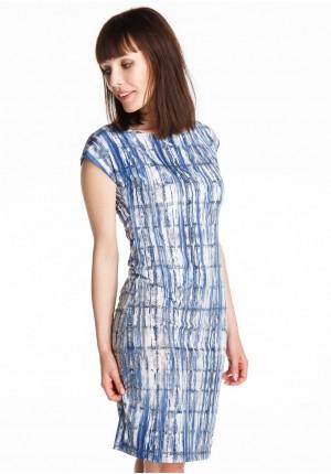 Sukienka 1214 (niebieska)