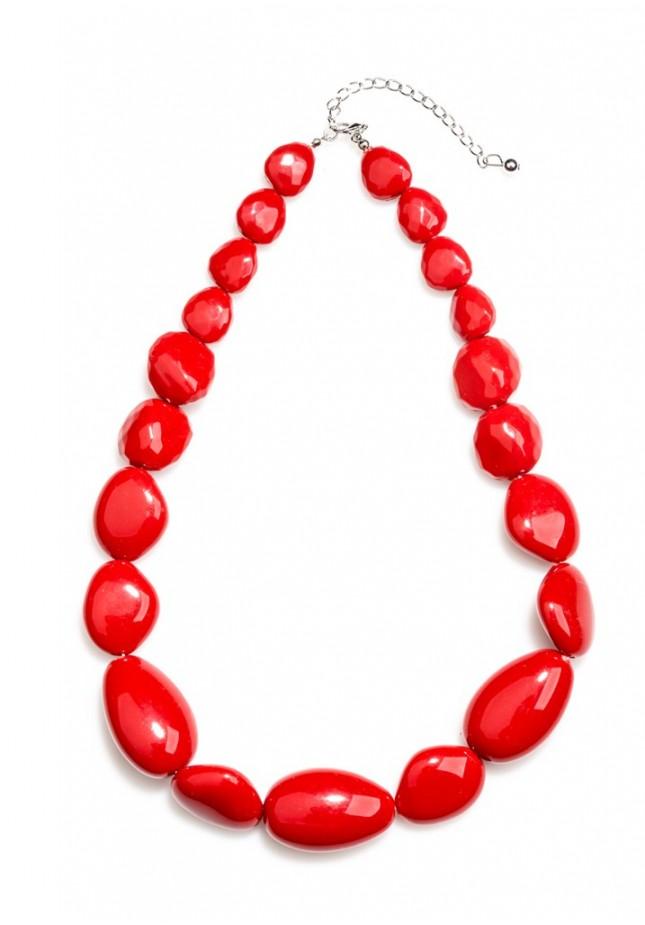 Naszyjnik 0191 (czerwony)