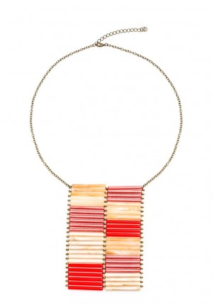 Straw Collar Necklace
