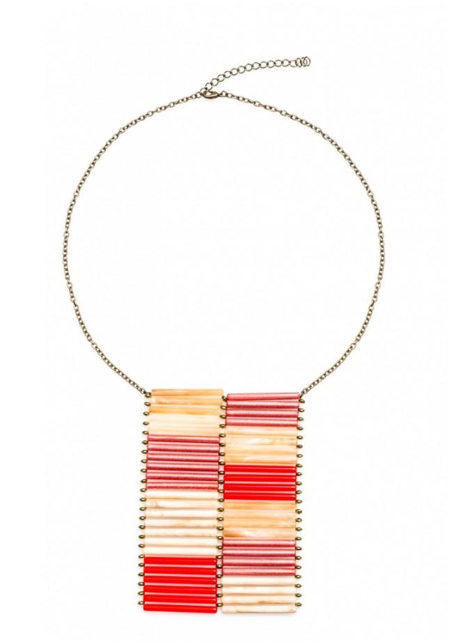 Straw Collar Necklace