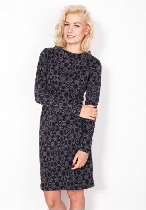 Sukienka 1276 (czarna)