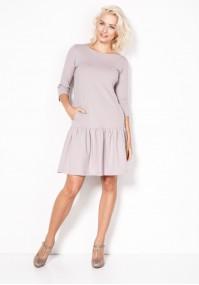 Sukienka 1325 (beżowa)