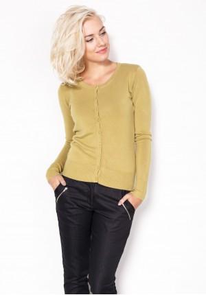 Sweter 8718 (oliwkowy)