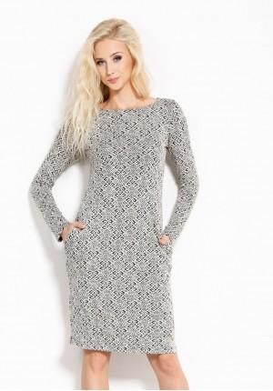 Sukienka w labirynt