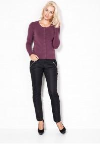 Sweter w kolorze jasnej śliwki