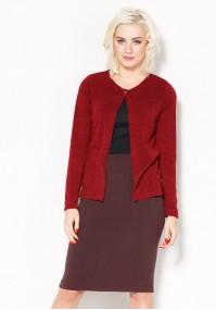 Pencil burgundy Skirt