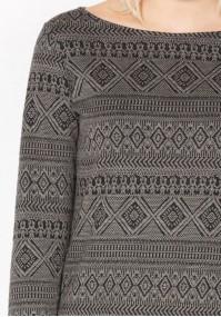 Sukienka w azteckie wzory