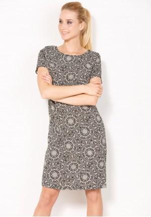 Sukienka 1020 (z czarnym)