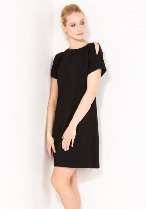 Sukienka 1714 (czarna)