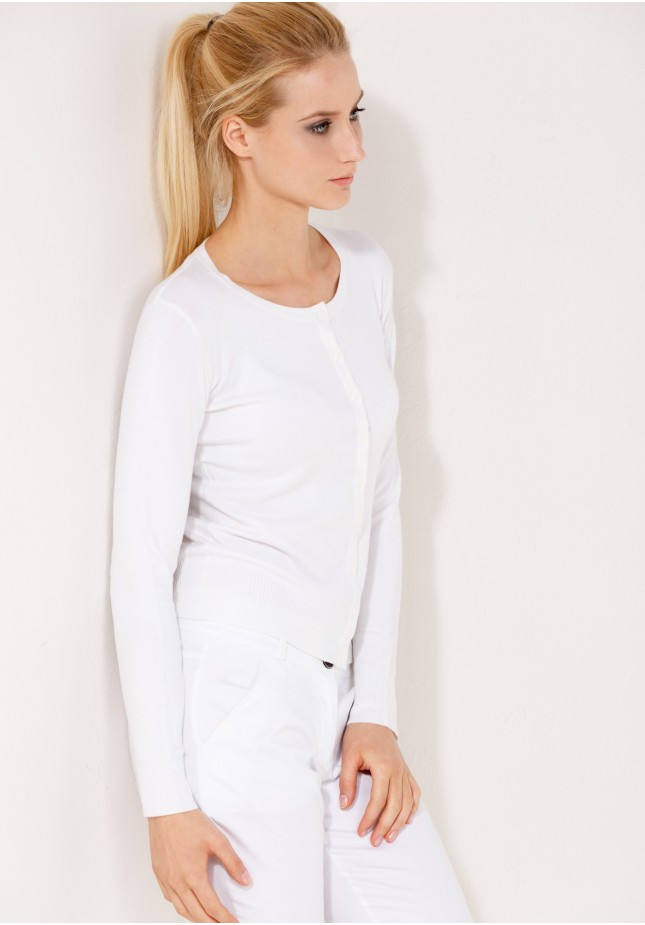 Sweter 8718 (biały)