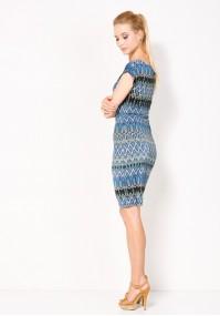 Sukienka 1214 (zygzaki)