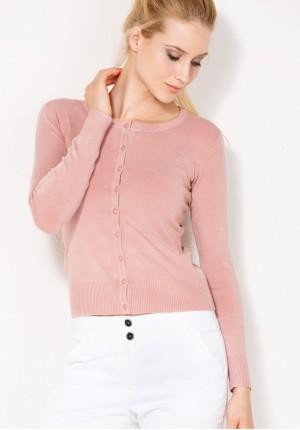 Sweter 8718 (jasny róż)