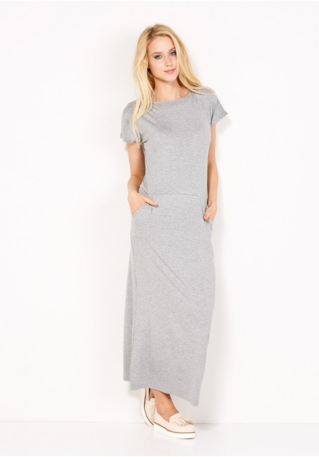 Dresowa Sukienka maxi