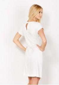 Sukienka 1024 (kremowa)