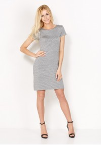 Fitted Dress in dots