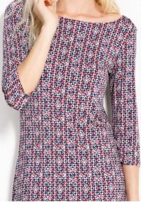 Sukienka 1299 (kwadraty)