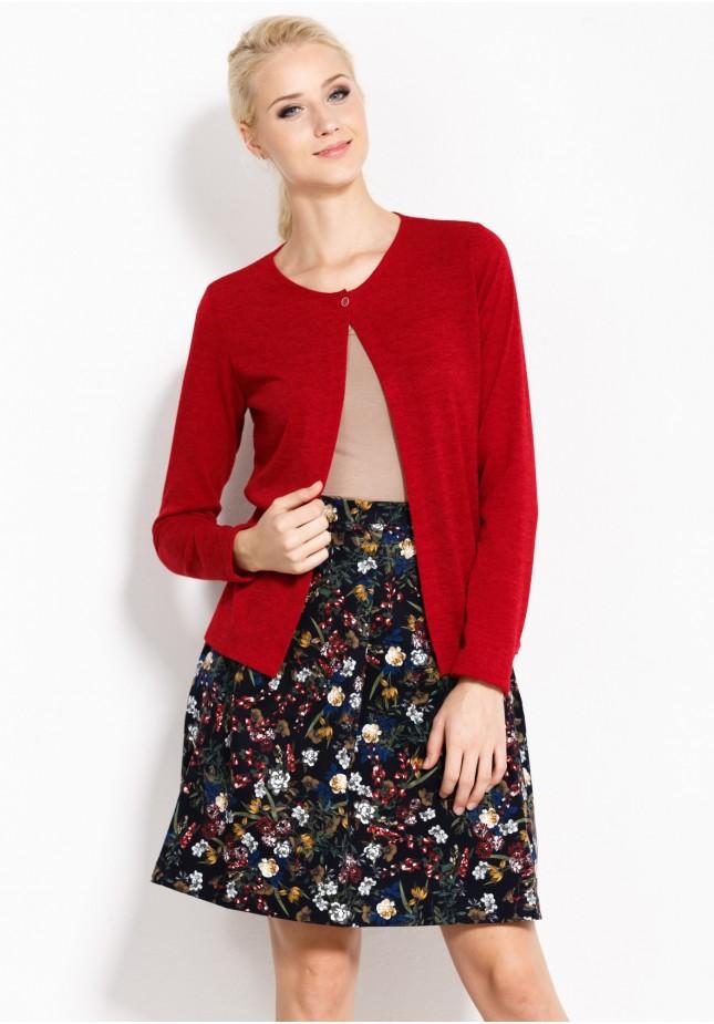 Sweter 8862 (czerwony)