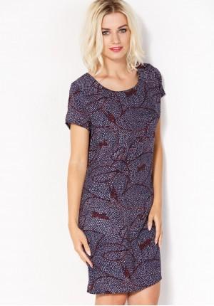 Airy purple Dress