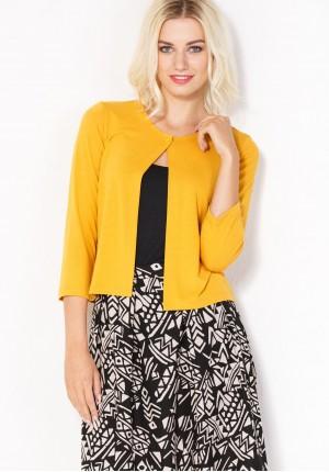 Sweter 8815 (żółty)