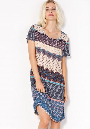 Sukienka 1071 (ecru)