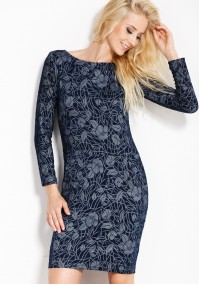 Sukienka 1600 (granatowa)