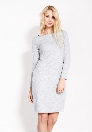 Sukienka 1631 (szary)