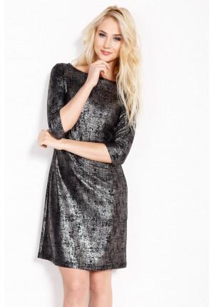 Sukienka 1638 (czarna)