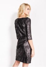 Sukienka 1638 (z czarnym)