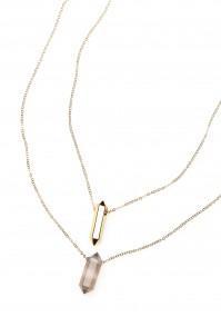 Naszyjnik z kryształami