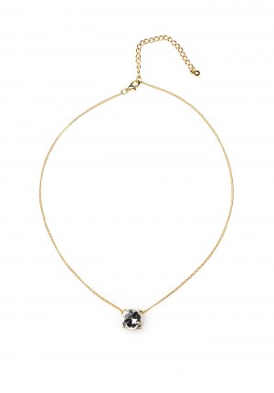Gold-plated Necklace with a pearl