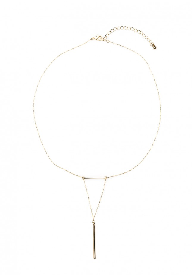 Necklace with beams