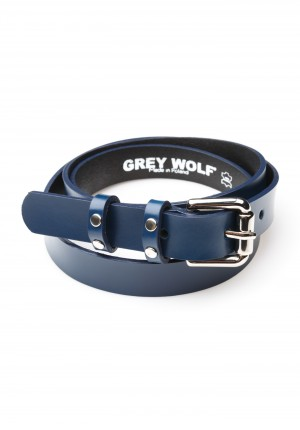 Navy blue classic Belt