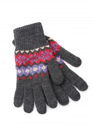 Rękawiczki 9004 (ciemy szary)