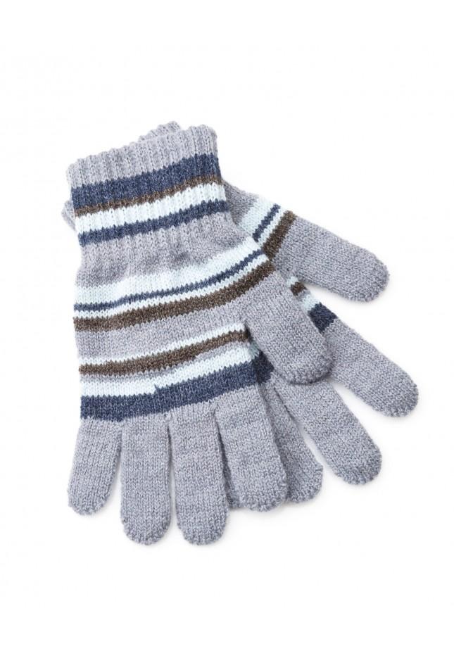 Rękawiczki 9003 (błękitne paski)