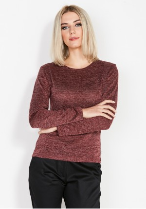 Simple Maroon Sweater