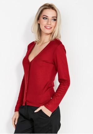 Sweter 8918 (czerwony)