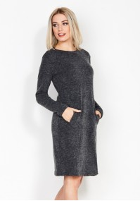 Graphite Dress with pockets
