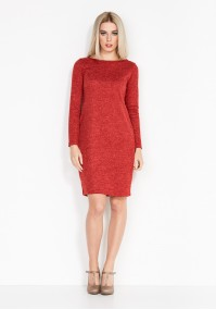 Knitted Red Dress