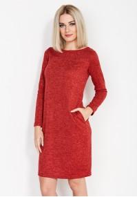 Sukienka 1631 (czerwona)