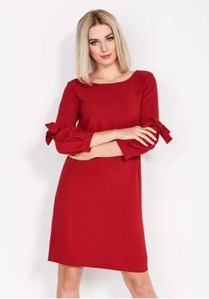Sukienka 1688 (czerwona)