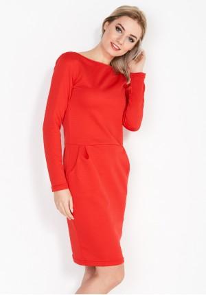 Sukienka 1827 (czerwona)