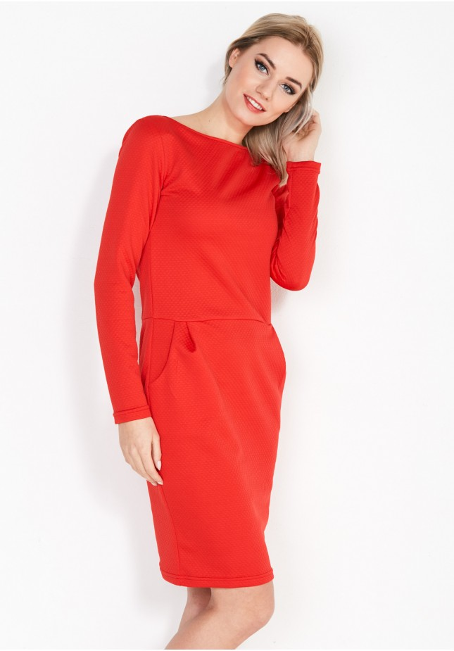 Dress 1827 (red)