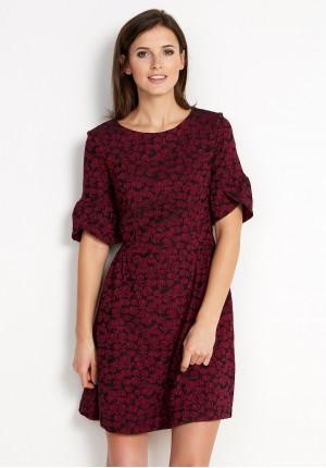 Jesienna elegancka Sukienka