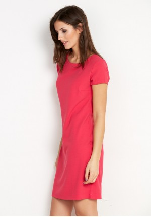 Classic rasberry Dress