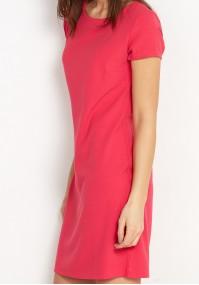 Klasyczna malinowa Sukienka