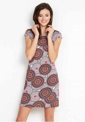 Sukienka 1474 (z czerwonym)