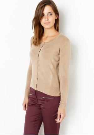 Sweter 8718 (jasny beżowy)
